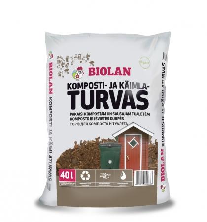 Biolan Komposti- ja Kuivkäimlaturvas